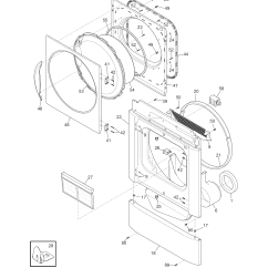 Frigidaire Dryer Diagram Single Phase Motor Wiring With Capacitor Controls Top Panel Parts Model