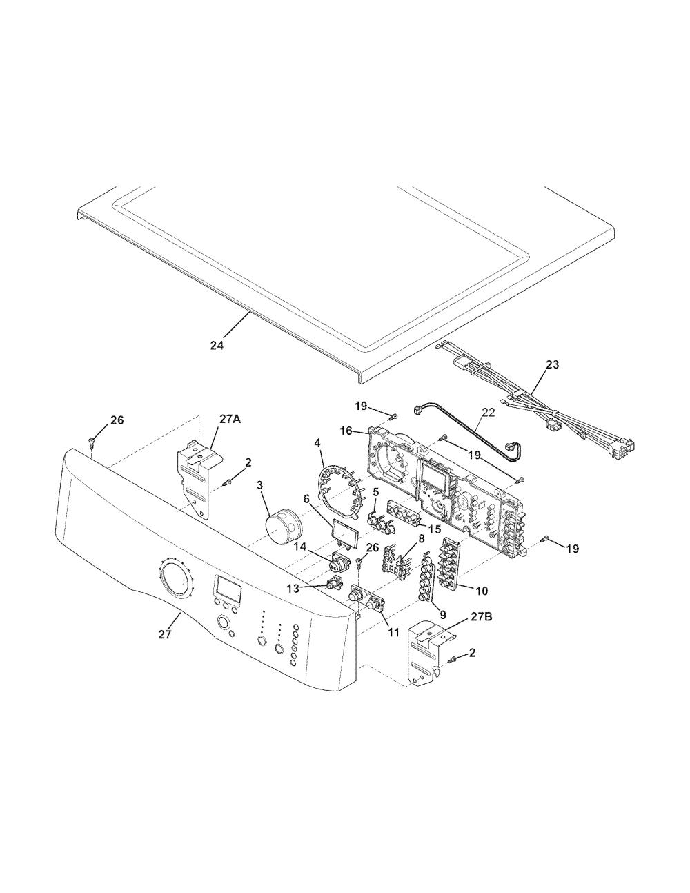 medium resolution of electrolux electric dryer motor parts model eied55irr0 electrolux dryer wiring diagram