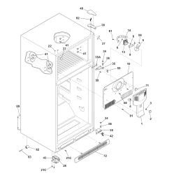wrg 0704 wire schematic for kenmore upright freezer [ 1700 x 2200 Pixel ]
