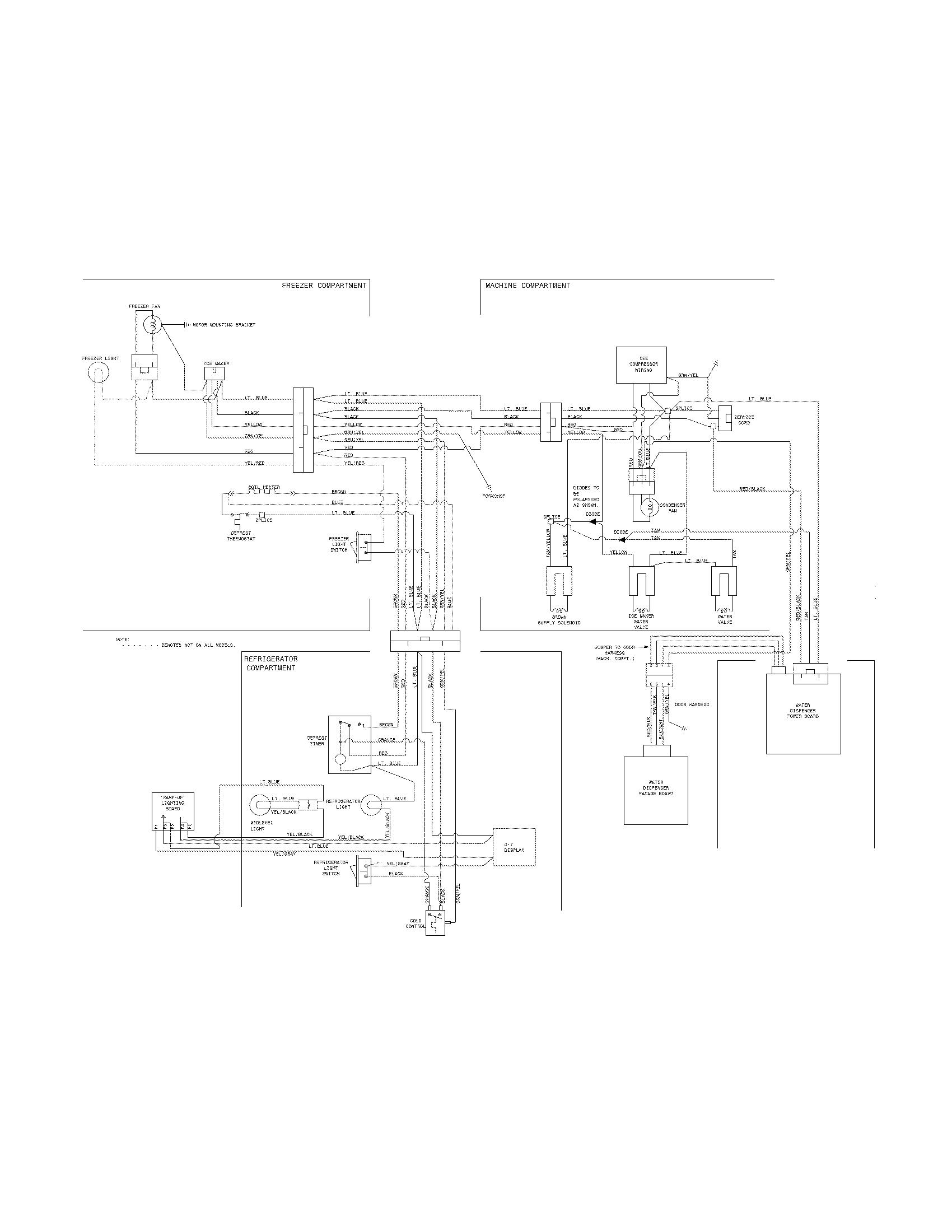 Kenmore Elite Refrigerator Schematic, Kenmore, Free Engine