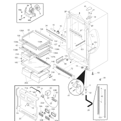 Kenmore Elite Parts Diagram Vw Polo 9n Central Locking Wiring Cabinet And List For Model 25344723108