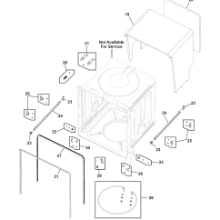 Frigidaire Gallery Dishwasher Parts Diagram Fisher Minute Mount 2 Wiring For Nonptrodp