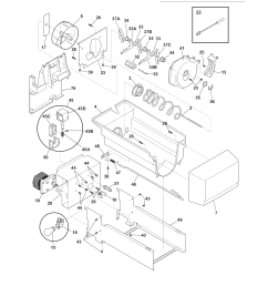 electrolux refrigerator ice container parts [ 1700 x 2200 Pixel ]