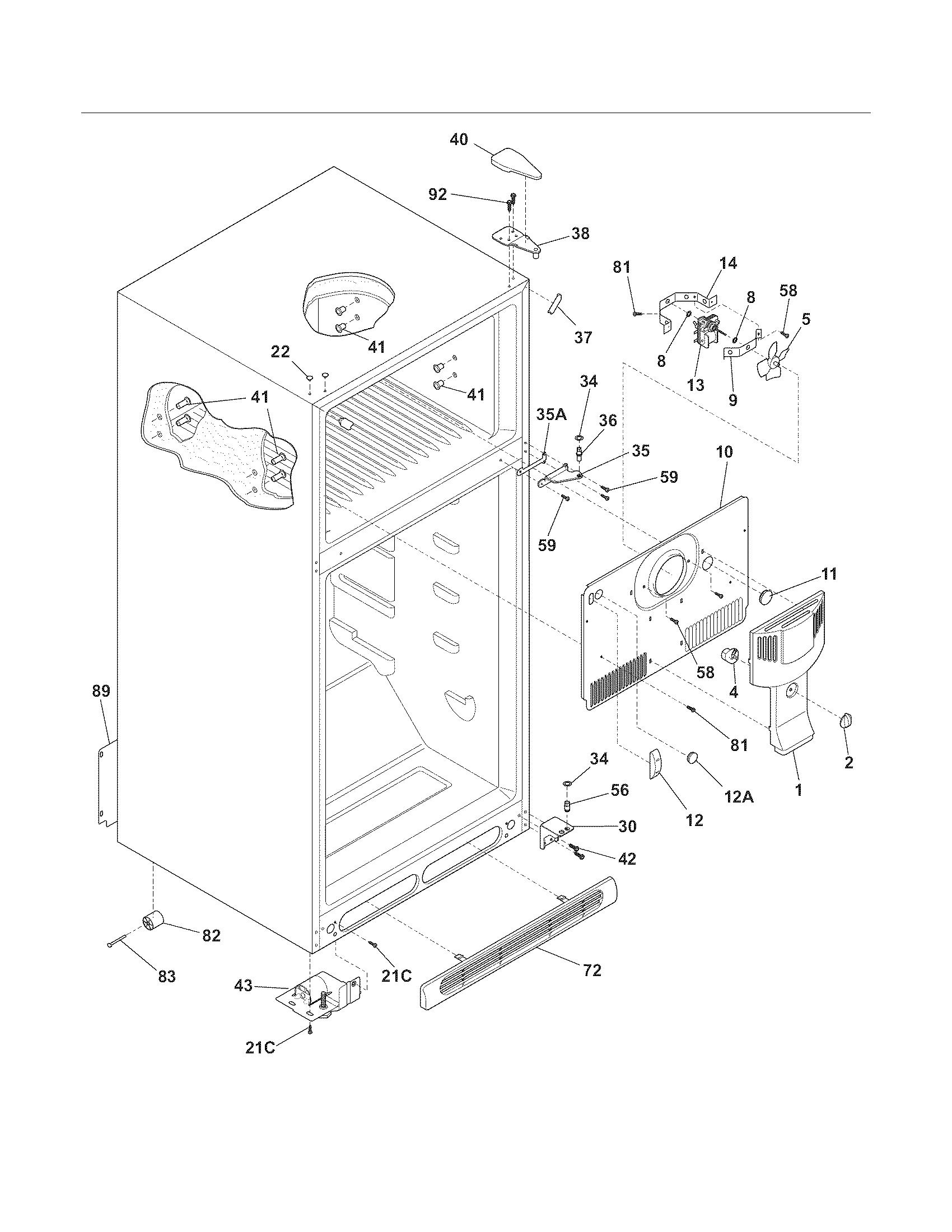 hight resolution of frigidaire refrigerator schematics blog wiring diagram schematic for frigidaire refrigerator