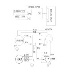 frigidaire model fra053xt735 air conditioner room genuine parts hvac fan relay wiring diagram frigidaire air handler [ 1700 x 2200 Pixel ]