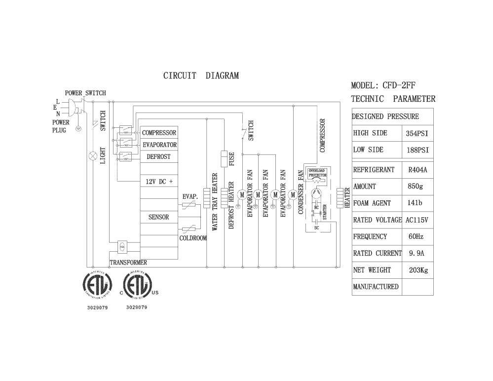 medium resolution of kelvinator model kcbm48f refrigeration commercial genuine parts diagram range circuit ge schematic js998