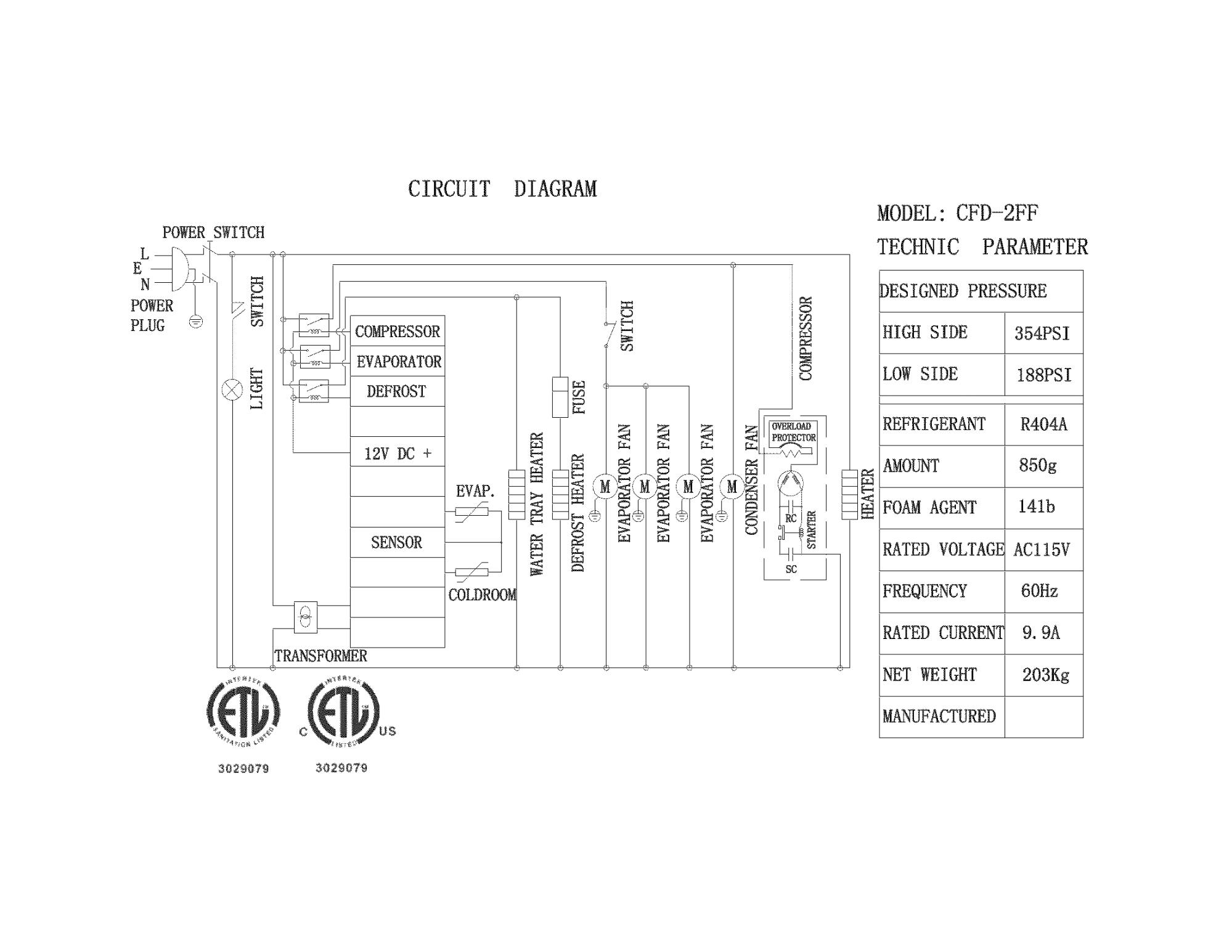 hight resolution of kelvinator model kcbm48f refrigeration commercial genuine parts diagram range circuit ge schematic js998