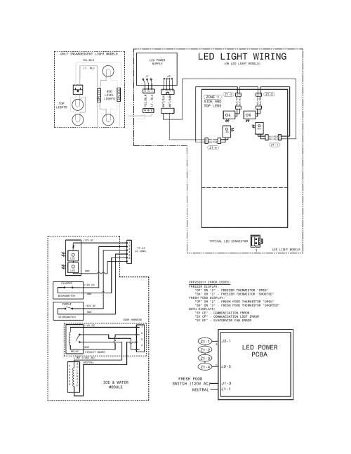small resolution of kenmore 25370312211 wiring diagram diagram