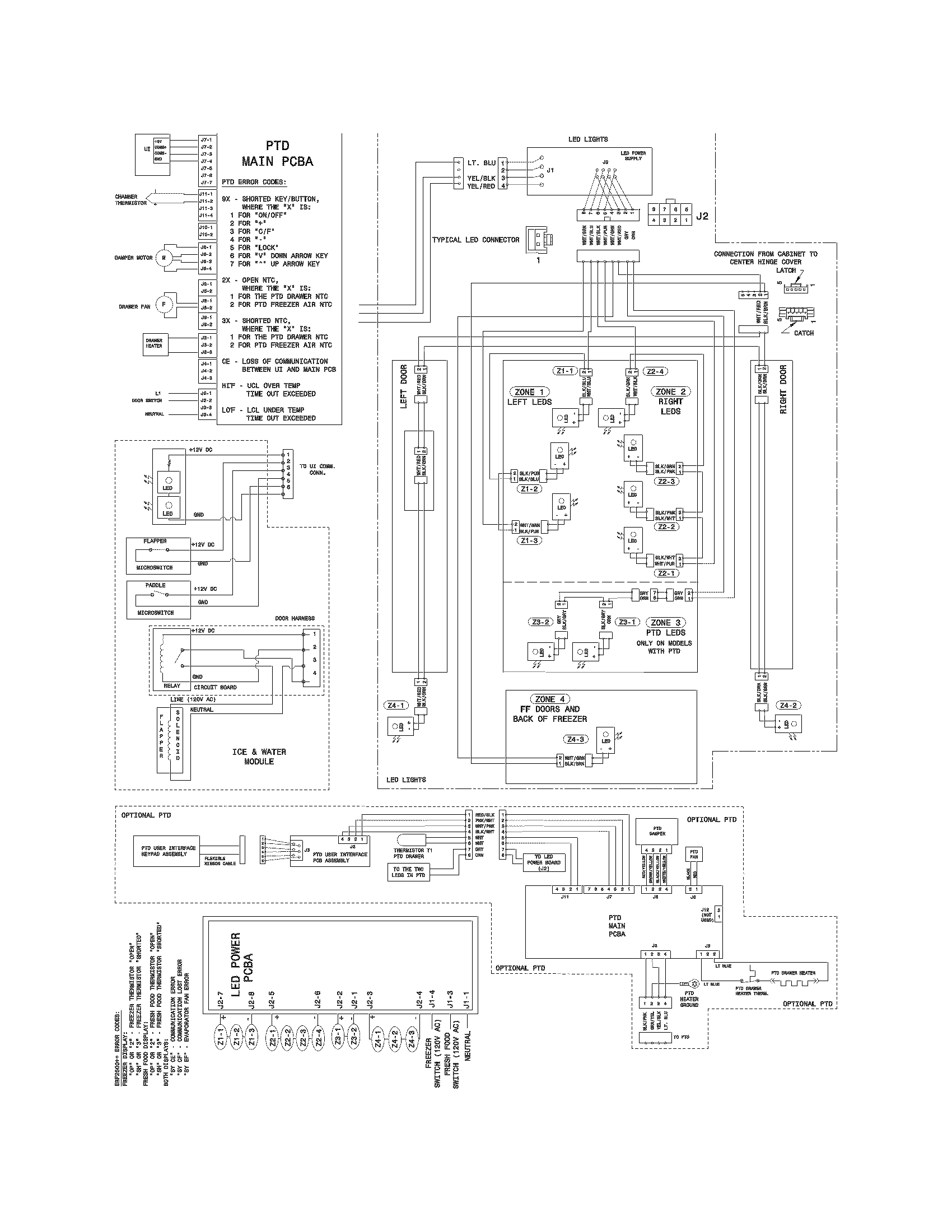 electrolux double door refrigerator wiring diagram steel phase somurich