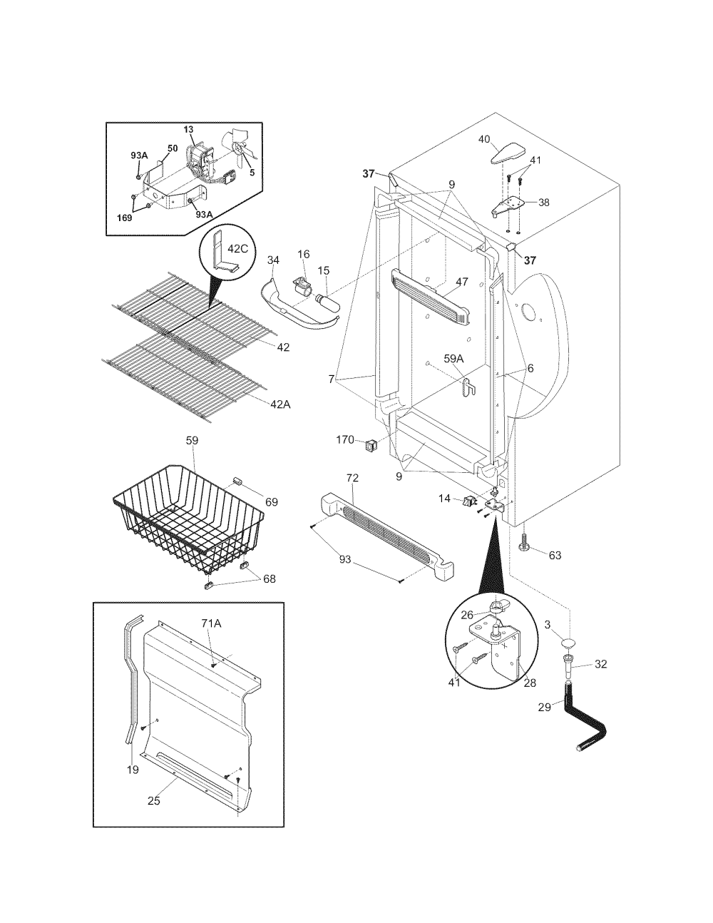 medium resolution of wire schematic for kenmore upright freezer