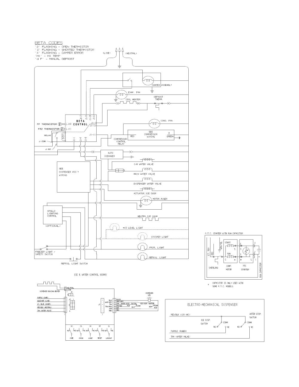 medium resolution of frigidaire ffhs2622msf wiring schematic diagram