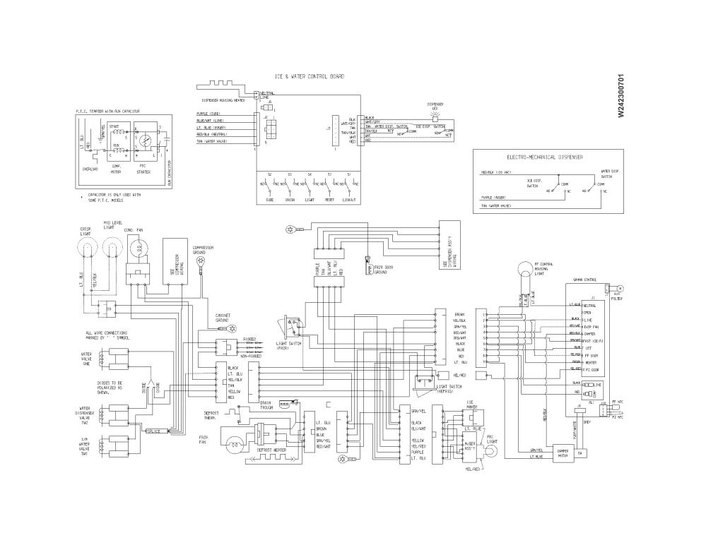 medium resolution of frigidaire ffhs2611lbb wiring diagram diagram