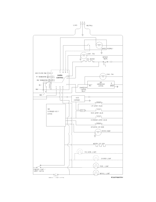 small resolution of frigidaire ffhs2611lwf wiring schematic diagram