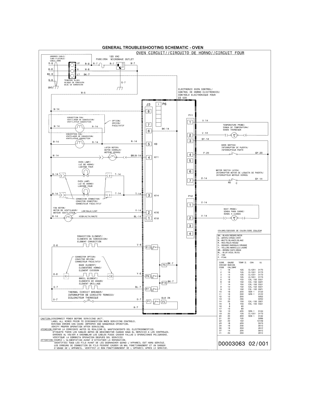 medium resolution of frigidaire walloven microwave combo parts model fgmc3065pfc toaster oven wiring diagram kenmore combination microwave wall oven