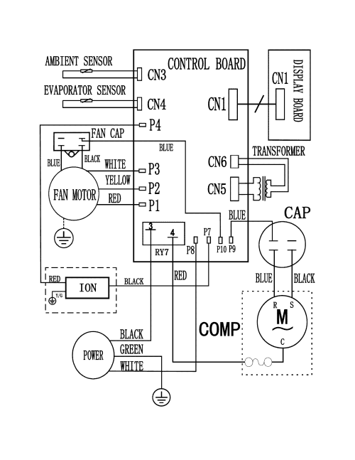 small resolution of  frigidaire air conditioner wiring diagram wiring diagram on payne air handler wiring diagrams