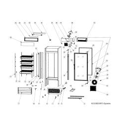 kelvinator refrigerator wiring diagram [ 1700 x 2200 Pixel ]