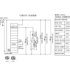 kelvinator model kcpt72 9 refrigeration commercial genuine parts whirlpool refrigerator schematic kelvinator refrigerator wiring diagram [ 2200 x 1700 Pixel ]