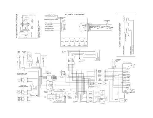 small resolution of frigidaire mini fridge wiring diagram frigidaire model ffss2614qs1a side by side refrigerator genuine