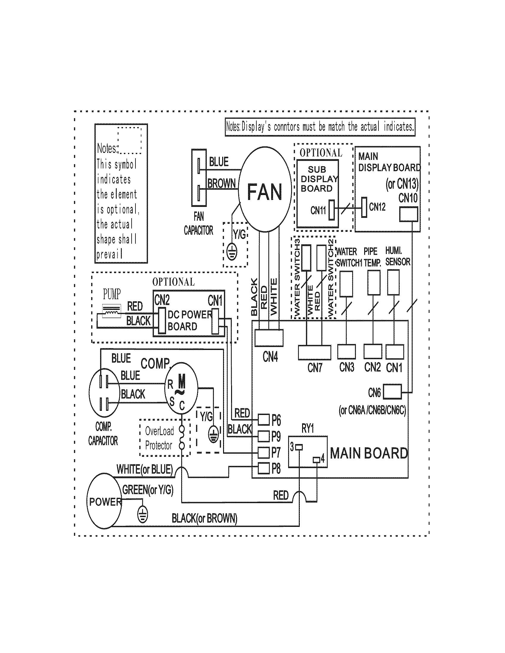 system diagram dehumidifier