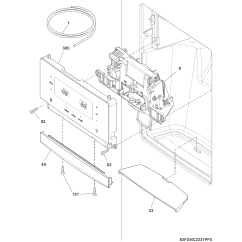 Wiring Diagram For A Electrolux 3 Way Fridge Chevy 4 Pin Trailer Frigidaire Model Fghs2655pf5a Side By Refrigerator Genuine Parts