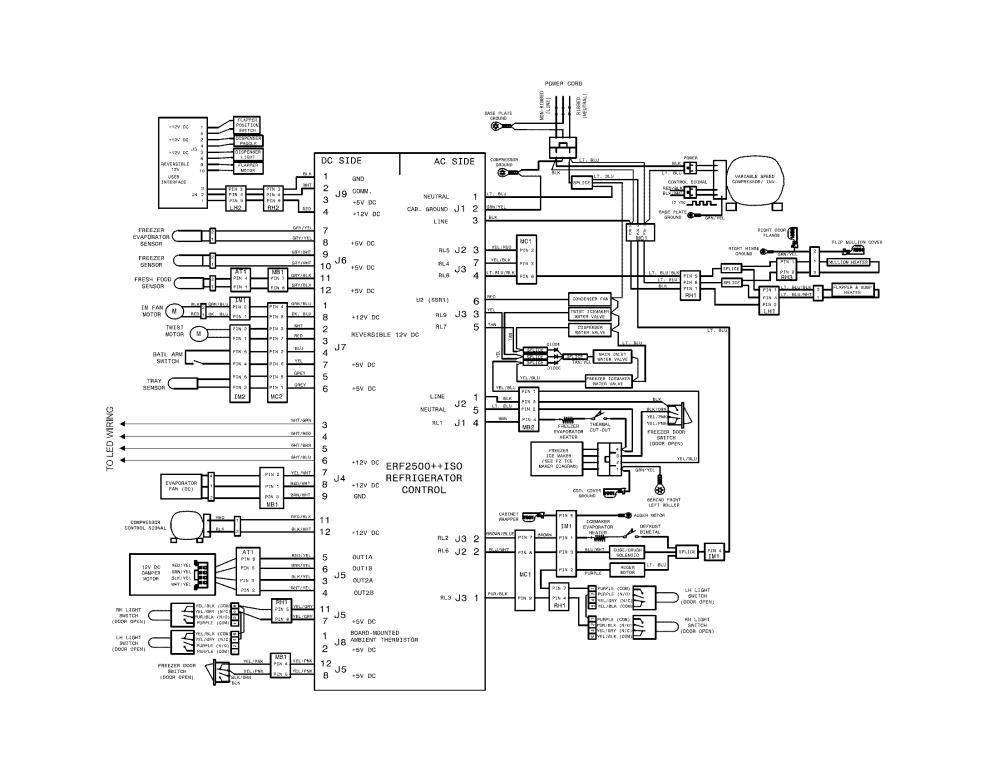 medium resolution of viking refrigerator wiring diagram