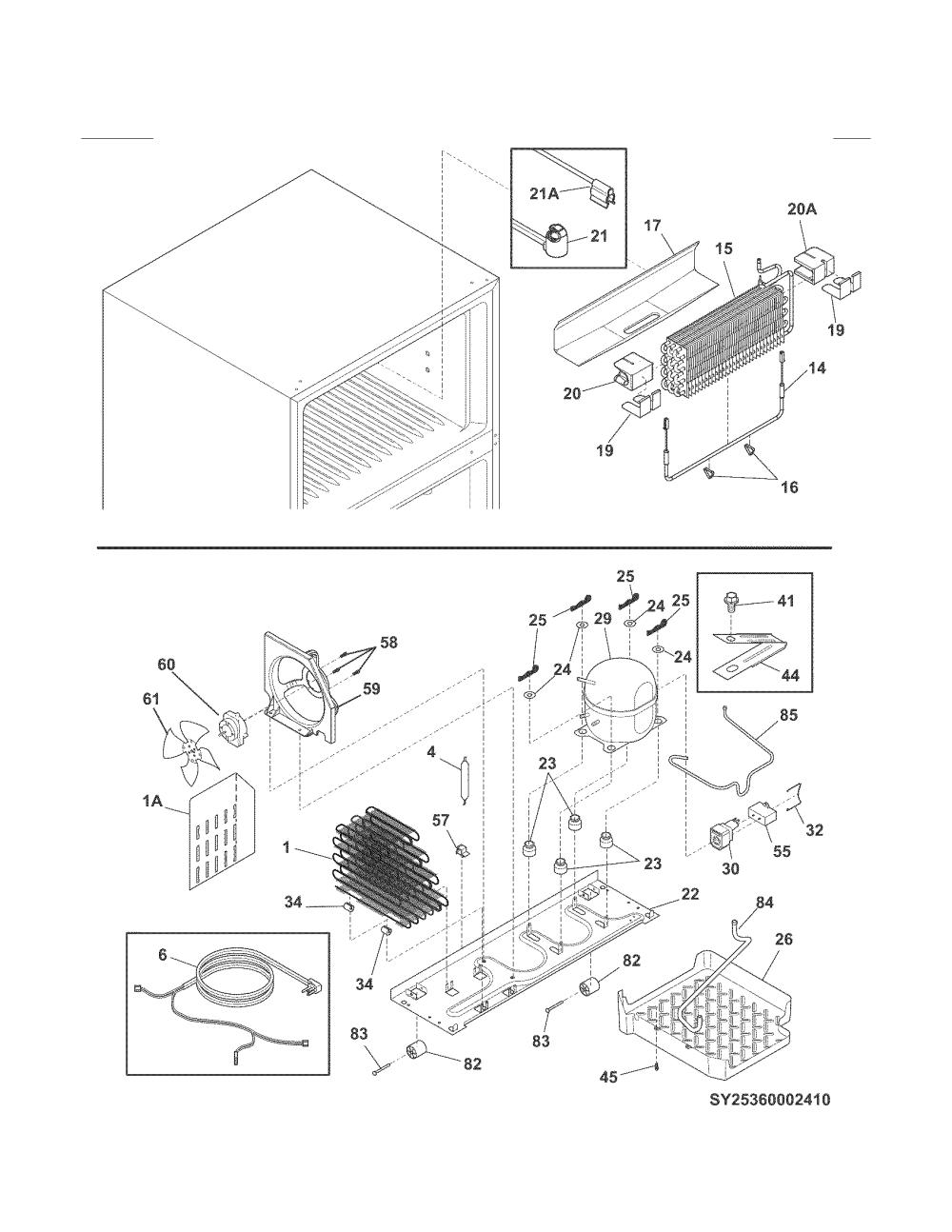 medium resolution of kenmore refrigerator model 253 wiring diagram