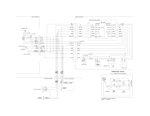 small resolution of kenmore 25360082411 wiring diagram diagram