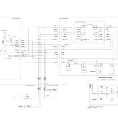 crosley model crt182qw1 top mount refrigerator genuine parts wiring diagra  [ 3300 x 2550 Pixel ]