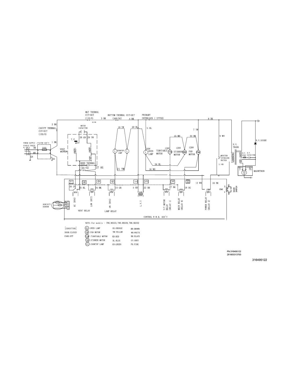 medium resolution of kenmore 79080333310 wiring diagram diagram