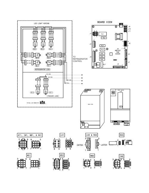 small resolution of kenmore 25370343419 wiring schematic diagram