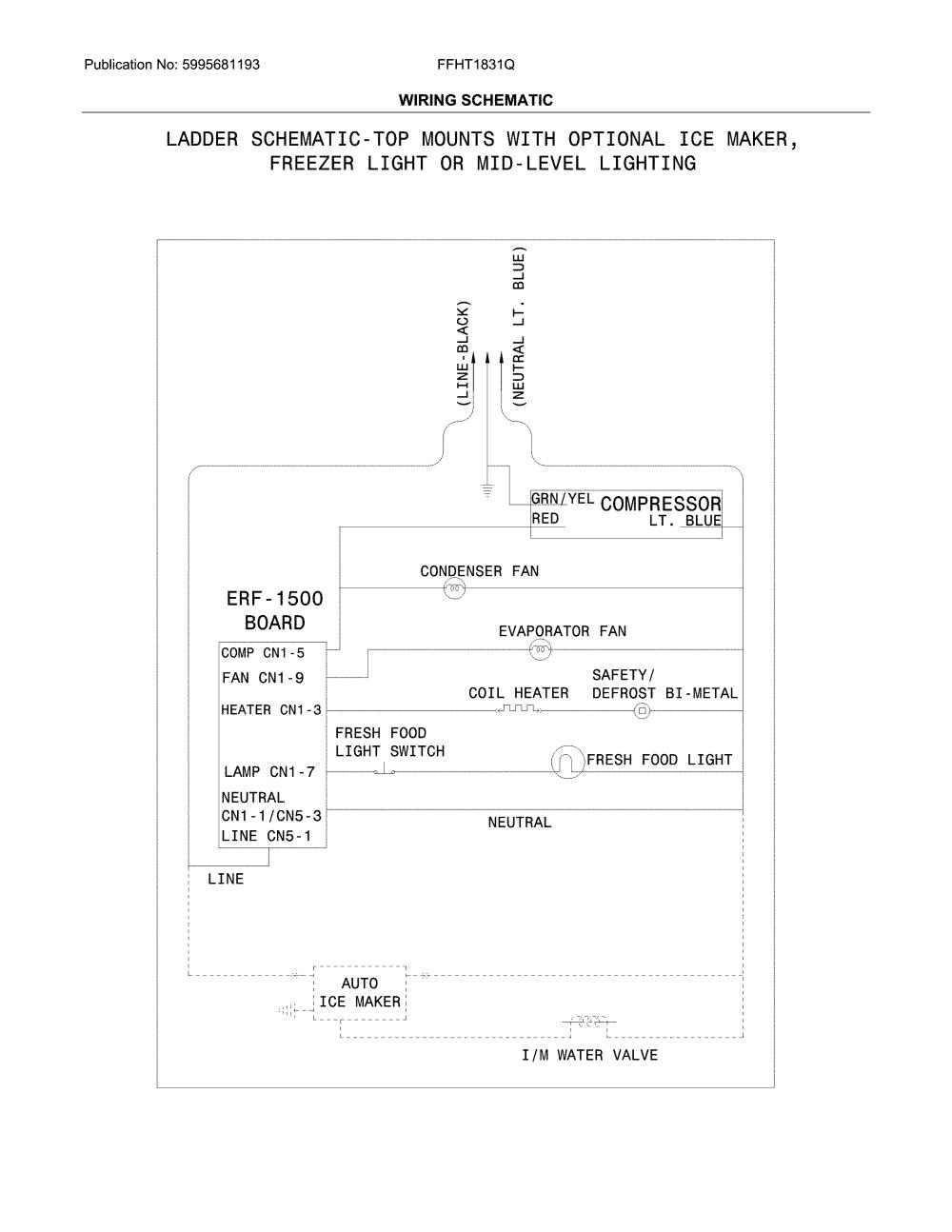 medium resolution of frigidaire ffht1831qe4 wiring schematic diagram