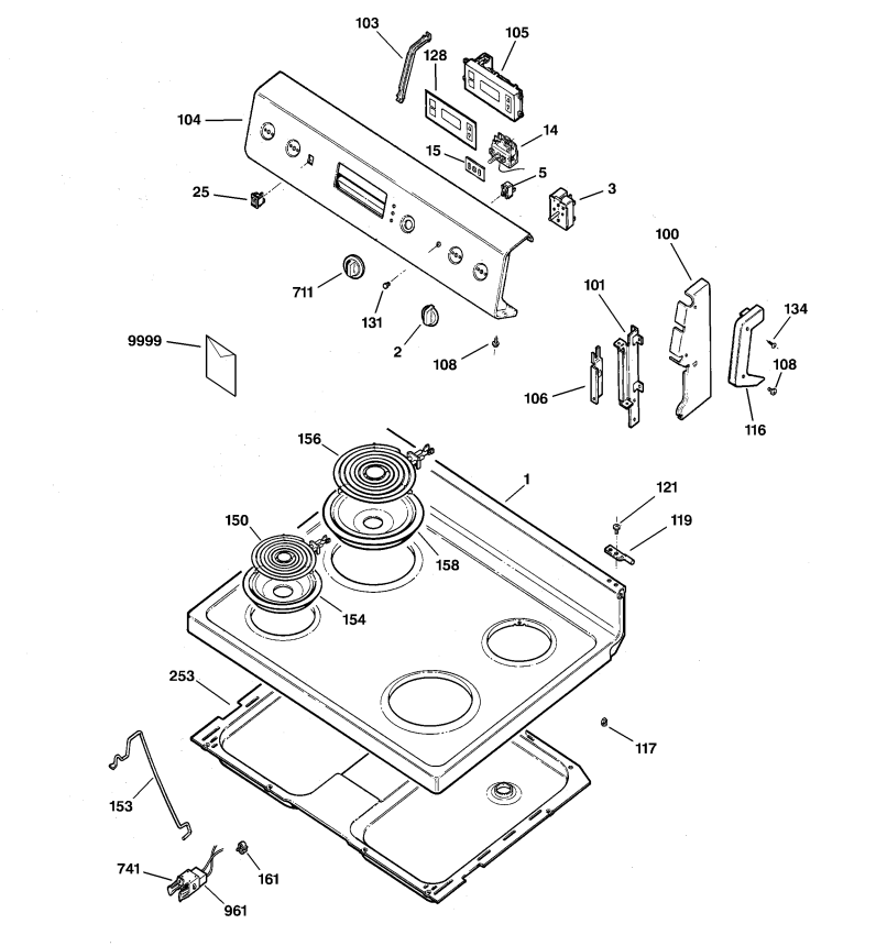Parts For Kenmore Electric Range Model 790