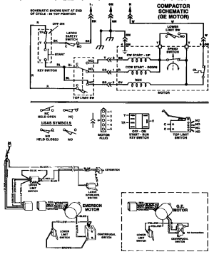 SCHEMATIC Diagram & Parts List for Model tmc30s Thermador