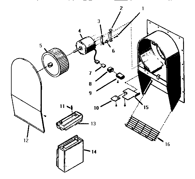 THERMADOR Cooktop Cv2536 integral ventilato Parts