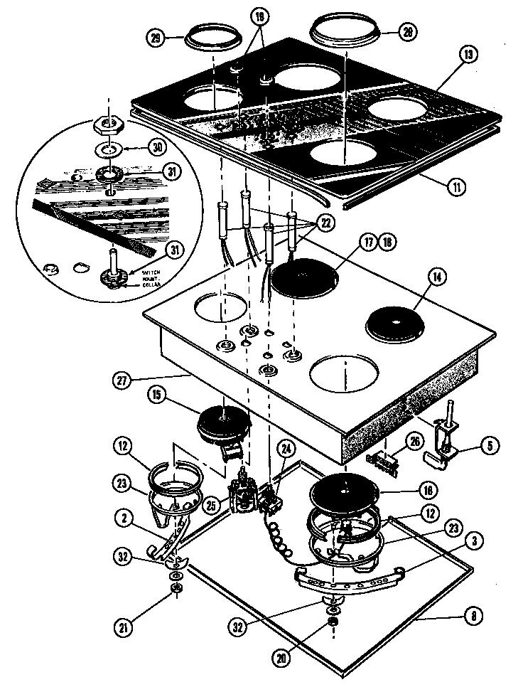 Refrigerators Parts: Thermador Parts