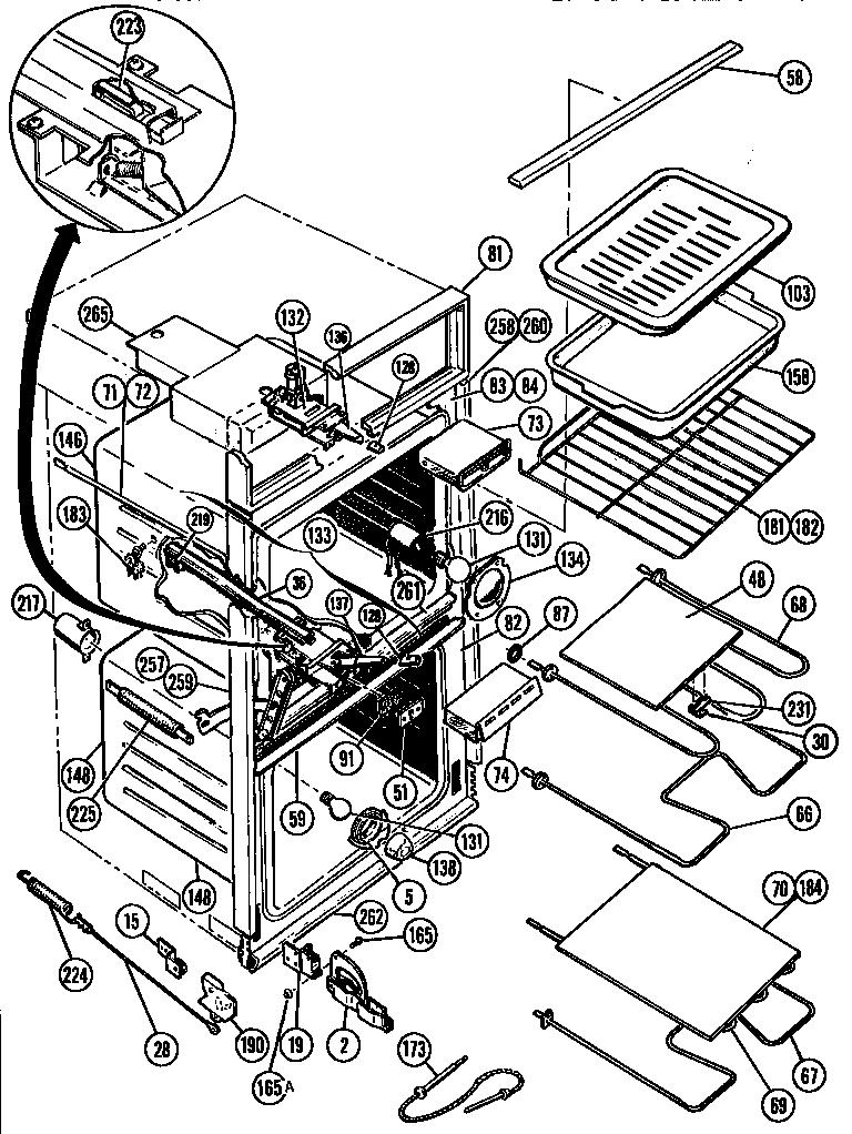 oven door schematic