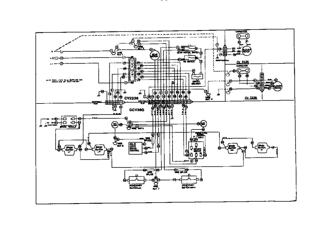 medium resolution of thermador gth36 gcv36g wiring diagram diagram