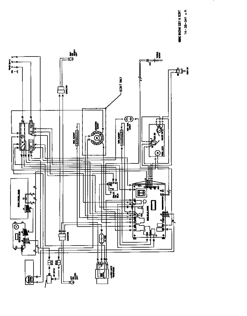 oven schematic wiring diagram [ 848 x 1085 Pixel ]