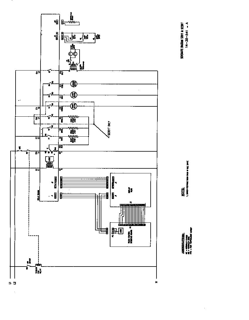 oven schematic wiring diagram [ 848 x 1089 Pixel ]