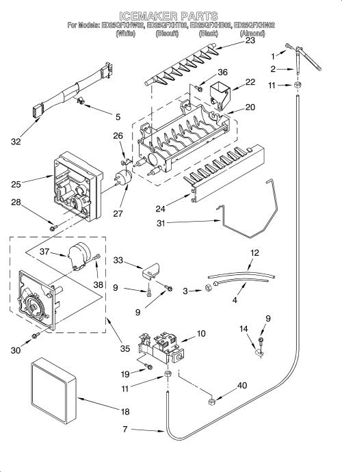 small resolution of whirlpool freezer wiring diagram