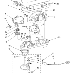 Kitchenaid Professional 600 Parts Diagram Allen Bradley Mcc Wiring Diagrams Stand Mixer Replacement