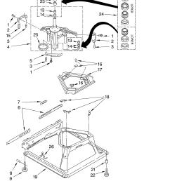 whirlpool washing machine motor wiring diagram [ 3348 x 4623 Pixel ]