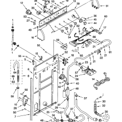 Whirlpool Washer Parts Diagram What Is A Exposition In Plot Controls And Rear Panel List For Model