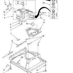 Whirlpool Washer Parts Diagram 5 Pin Trailer Plug Wiring South Africa Machine Base And List For Model Lsb6200kq0