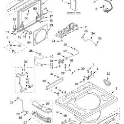 Whirlpool Washer Parts Diagram 3 Way Venn Printable Direct Drive Model Gvw9959kq1