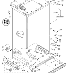 kitchenaid refrigerator parts manual besto blog [ 3348 x 4623 Pixel ]