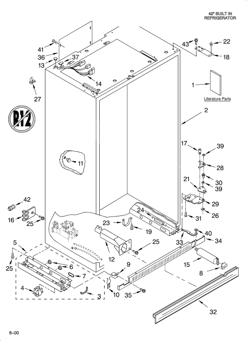 small resolution of kitchenaid refrigerator parts manual besto blog
