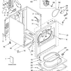 Sears Dryer Wiring Diagram 13 Jaw Meter Socket Estate Parts Model Teds740jq1 Partsdirect