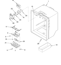 looking for whirlpool model gb22dkxjw01 bottom mount refrigerator repair replacement parts  [ 3348 x 4623 Pixel ]