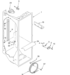 model gts18hcmerww wiring diagram wiring diagram whirlpool refrigerator electrical diagram model gts18hcmerww refrigerator wiring diagram [ 3348 x 4623 Pixel ]